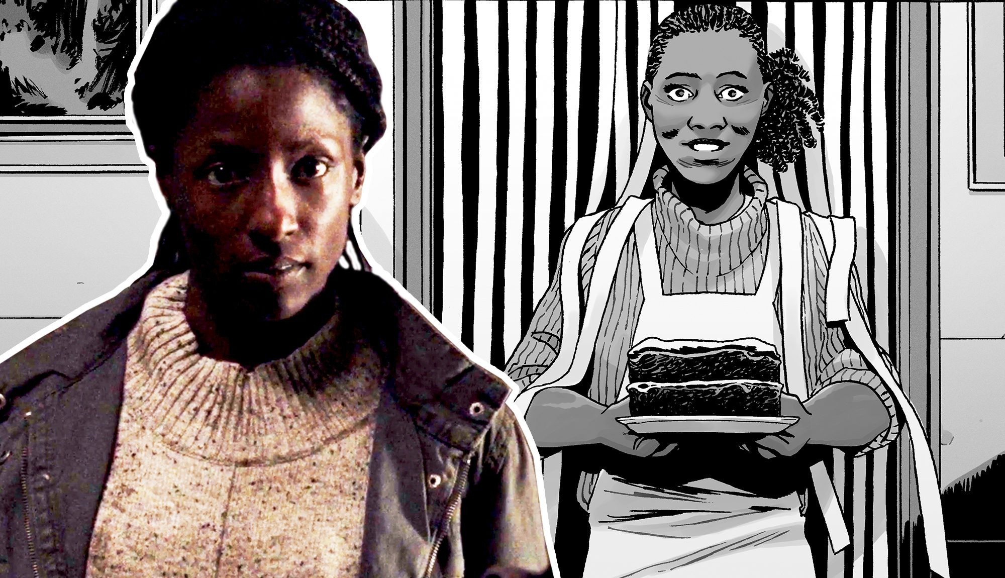 Michonnes Reunion With Jocelyn Was A Nod To The Walking