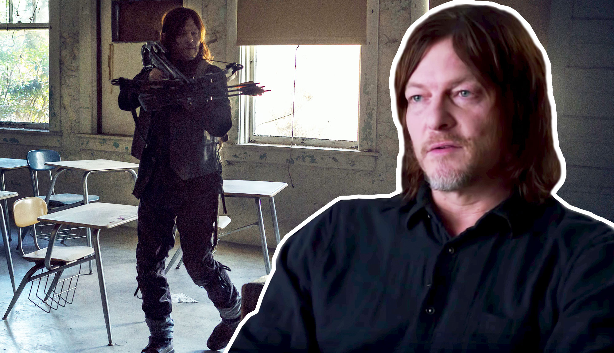 Norman Reedus Reveals The Real Reason Daryl Joined Michonne's Judith Mission