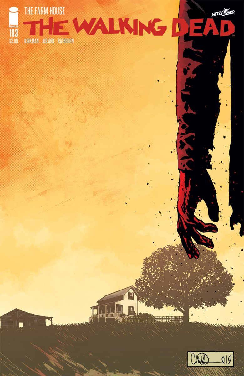 WALKING DEAD #50 2nd Printing Variant Cover Robert Kirkman