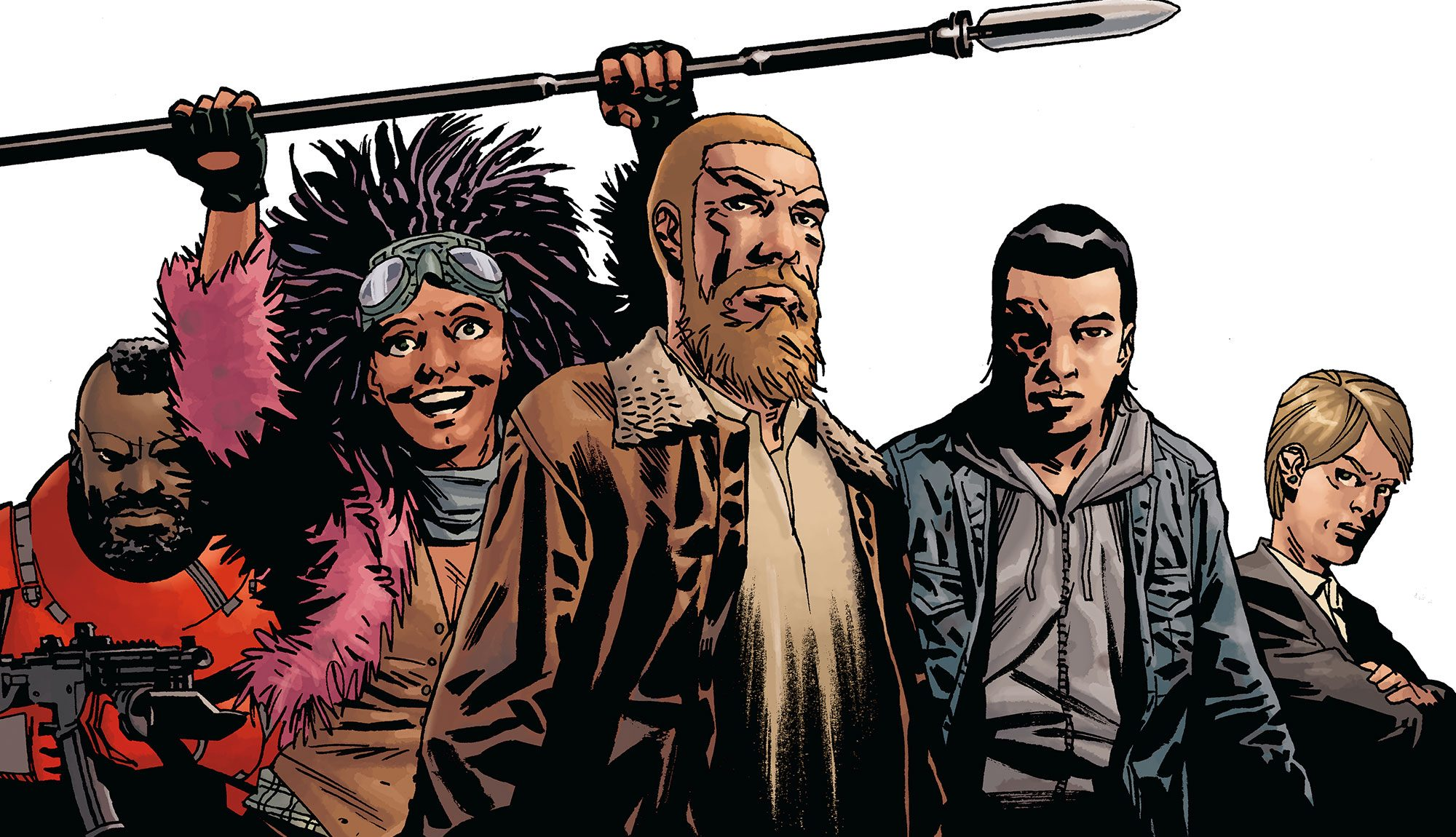 Moderne The Walking Dead Compendium 4 Gets Cover & Release Date - Skybound QY-59
