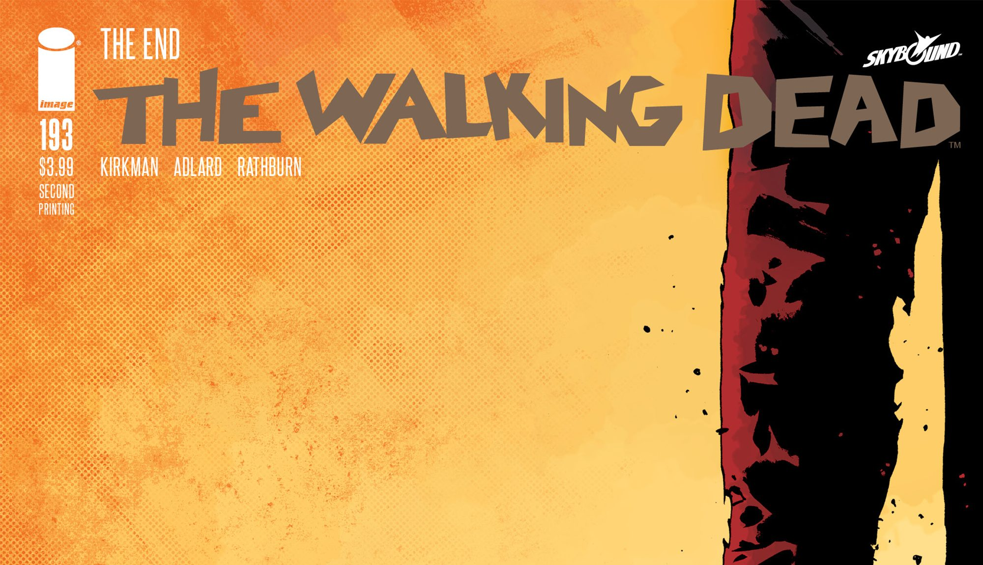 The Walking Dead Issue 193 Rushed Back For Second Printing