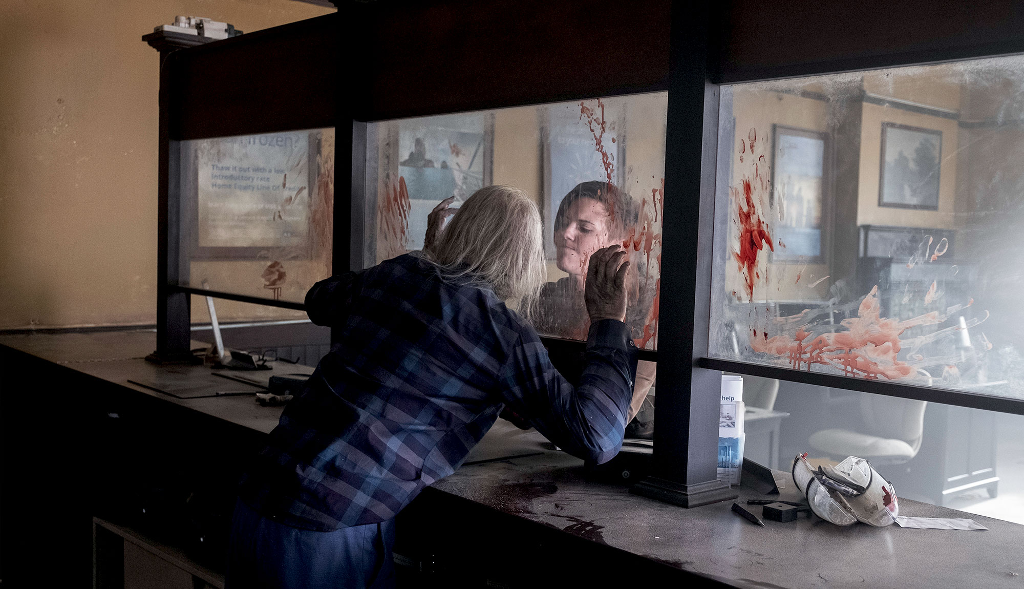 The Gang Gets Surrounded In Fear the Walking Dead Episode 511 Images