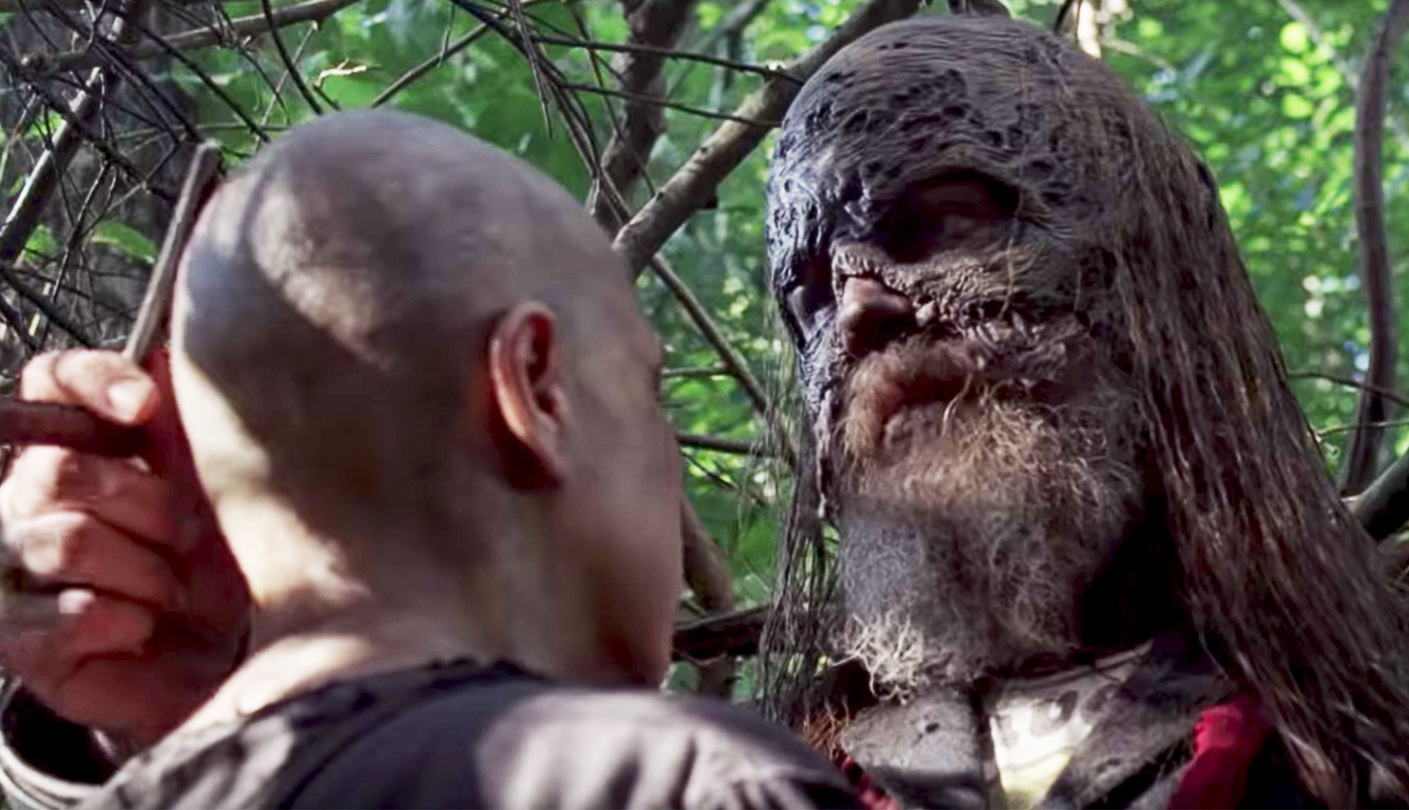 Alpha & Beta Plan Their Next Moves In The Walking Dead Episode 1002 Clip