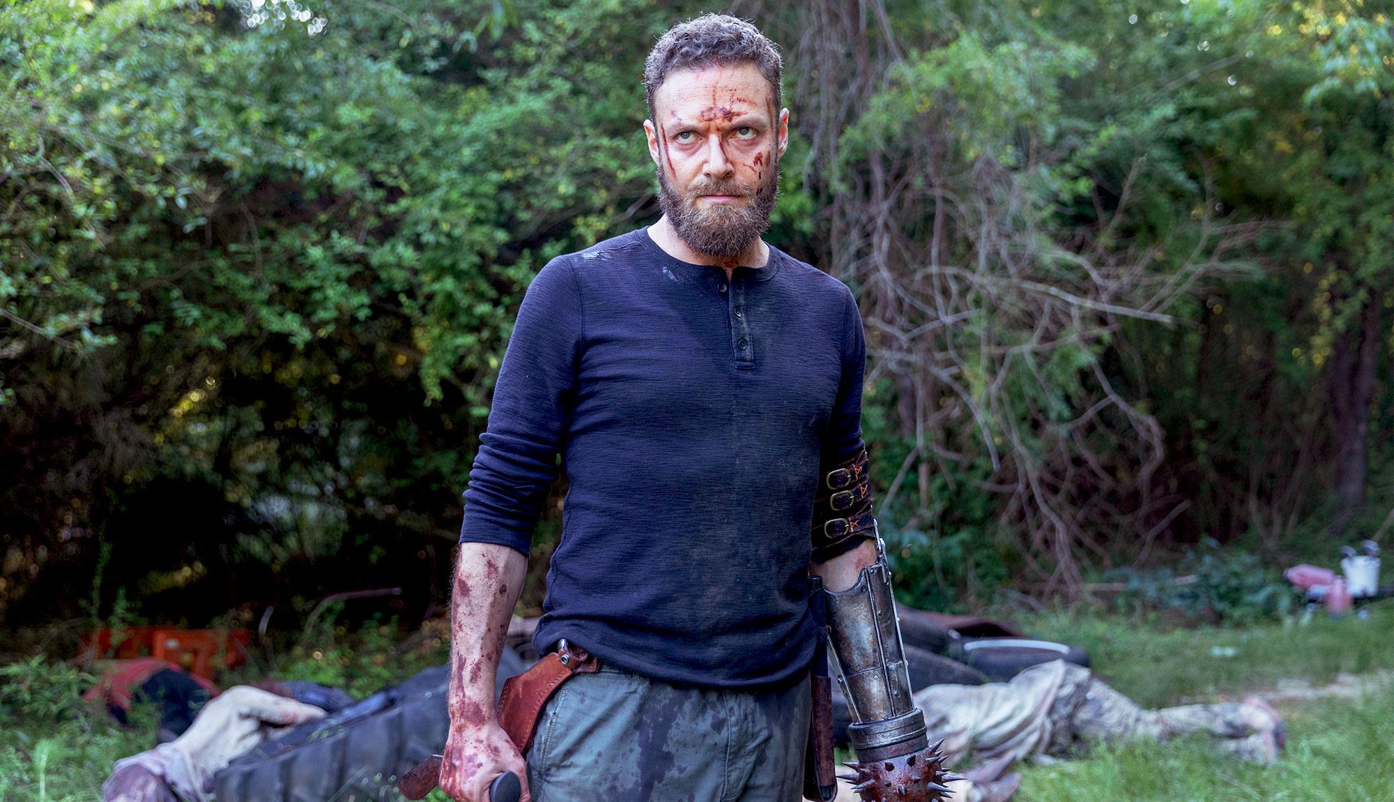 Waves of Walker Hordes Arrive in The Opening Minutes of The Walking Dead Episode 1003